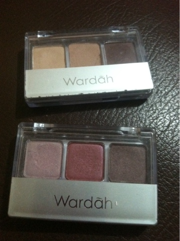 Wardah eyeshadow seri G dan B