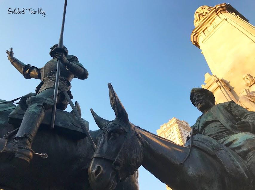 Visitar la Plaza de España con niños