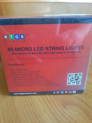 #rtgsproducts Micro LED 60 String Lights