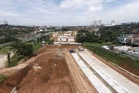 Pembangunan jalan tol di wilayah setu