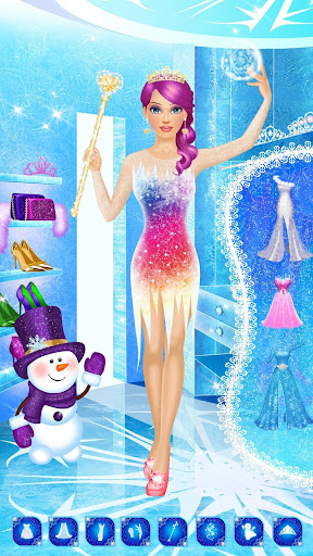 Ice Queen Makeover - Girls Makeup & Dress Up Game FREE.1.3 screenshots 4