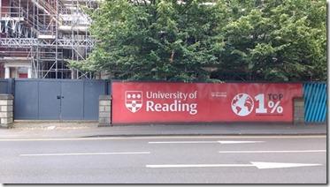 University sign s