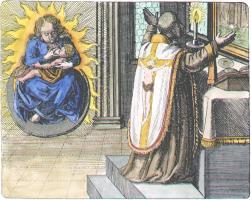 Melchior Cibinensis From Maier Symbola Aurea Mensae Franckfurt 1617, Alchemical And Hermetic Emblems 1