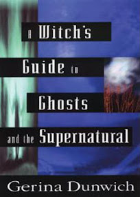 Cover of Gerina Dunwich's Book A Witchs Guide to Ghost and the Supernatural