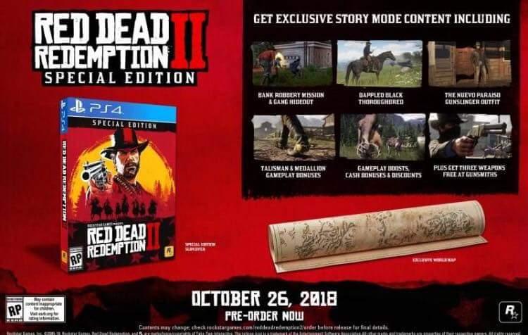 Esaminiamo più da vicino le varie versioni di Red Dead Redemption 2 su PS4