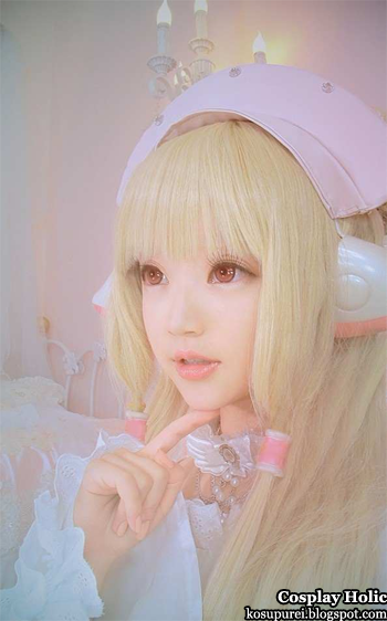 chobits cosplay - chii by kiyohari