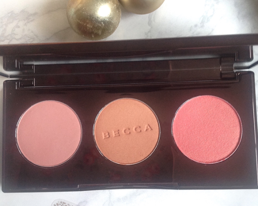 becca blushed with light palette review