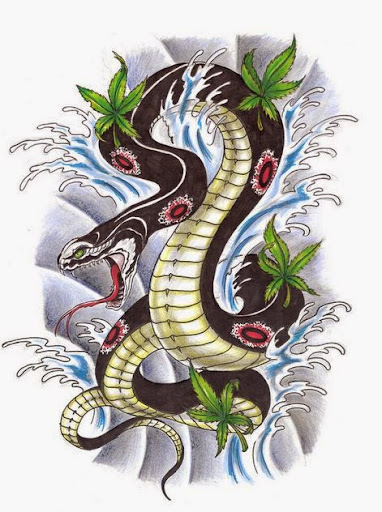 50 best snake tattoos designs and ideas designatattoo. Black Bedroom Furniture Sets. Home Design Ideas