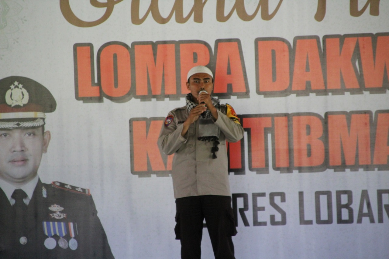 Bripka Lalu Mandayan Dapat Juara 1 Lomba Dakwah Kamtibmas