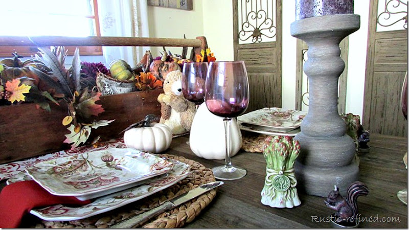 Inspirational Fall Tablescape