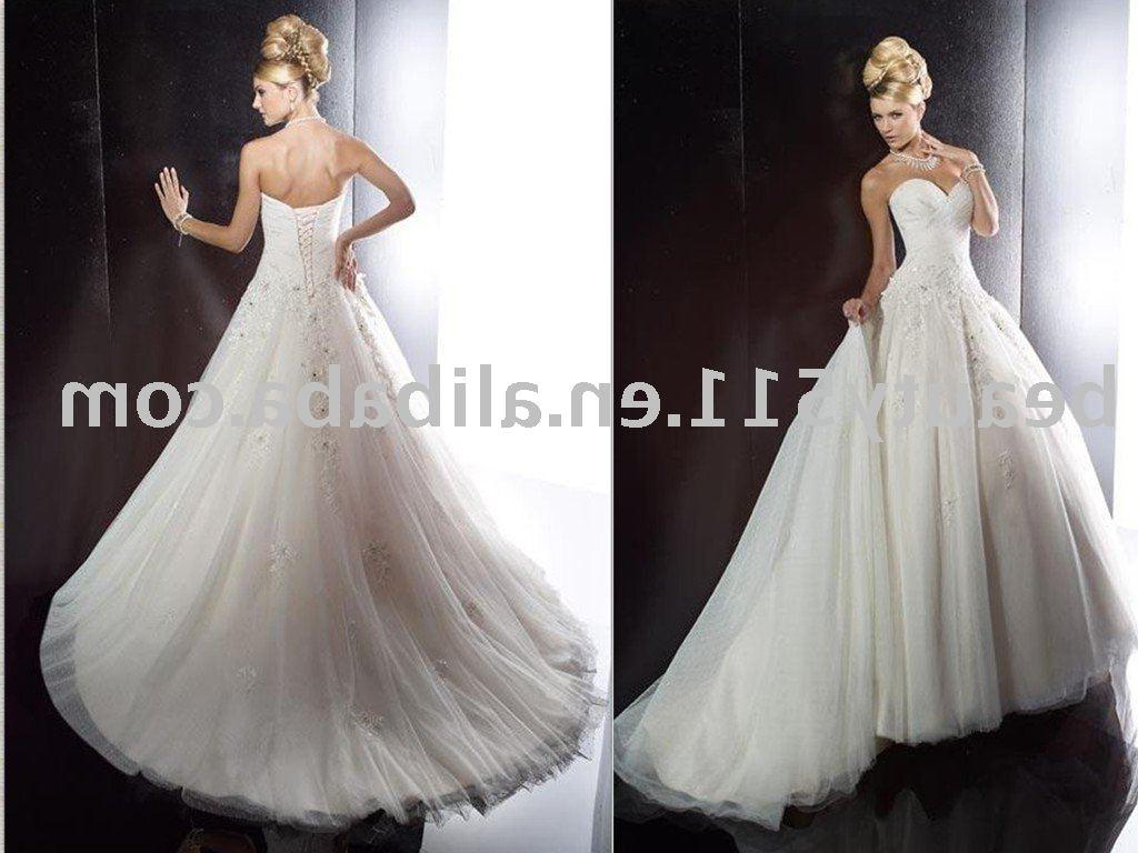 white bridal wedding gowns