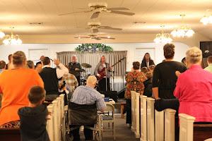 At Apostolic Lighthouse UPC in Nacogdoches, TX.