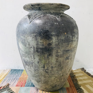 Hand-Thrown Large Ceramic Floor Vase #1