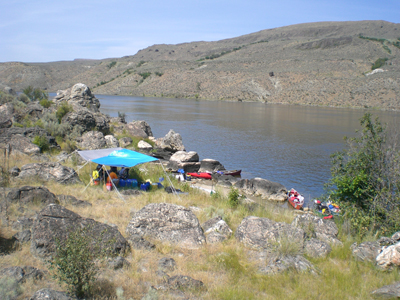 Rocky-Flats is our multi-day campsite