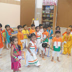 Independence Day & Janmashtami Celebration of Nursery Afternoon Section at Witty World, Chikoowadi (2017-18)
