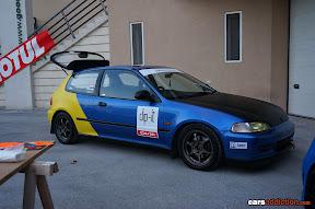 Blue EG Civic