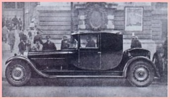 Bugatti 1928 Type 41 Royale coupé fiacre