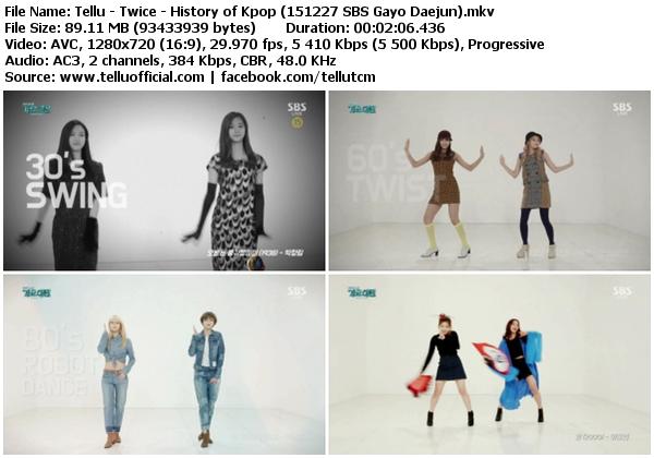 Download [Perf] Twice – History of Kpop + Like Ooh-Ahh @ SBS Gayo