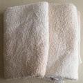 ピンクに変色したタオル