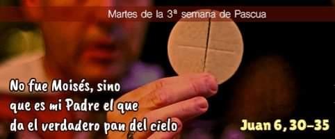 Evangelio del dia 20 de abril
