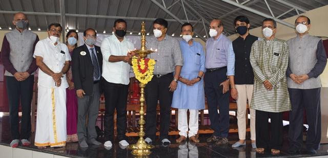 Talapady Sharada Hospital | ತಲಪಾಡಿಯ ಶಾರದಾ ಆಸ್ಪತ್ರೆಯಲ್ಲಿ ಪೋಸ್ಟ್-ಕೋವಿಡ್ ಆಯುಷ್ ಕೇರ್ ಕೇಂದ್ರ ಲೋಕಾರ್ಪಣೆ