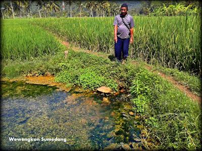 Mata Air Unik di Desa Cibubuan