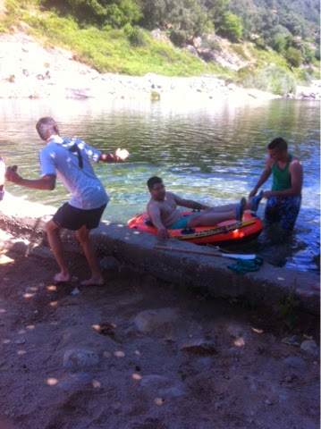 Bct jes s de medinaceli de santa olalla excursi n a candeleda for Candeleda piscinas naturales