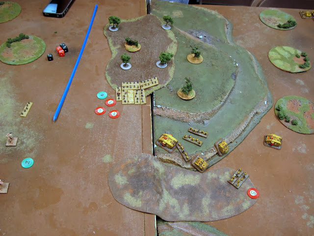 Marines engage the Guardsmen on the left flank and the Guardsmen win! MVPs!