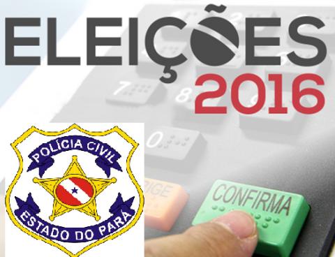 Delegacias terão funcionamento normal no dia das eleições