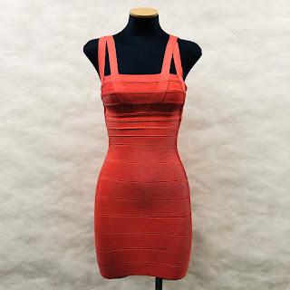 *SALE* Herve Leger Pink Bandage Dress