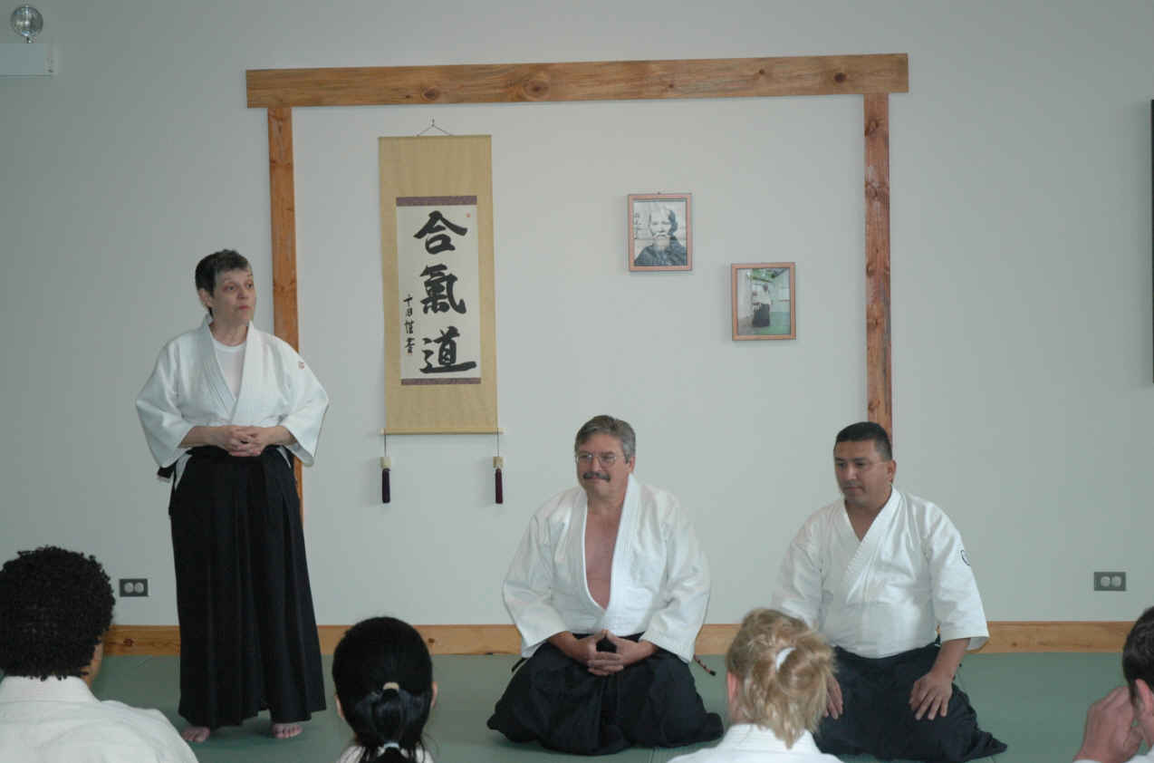 2009 Toyoda Memorial Seminar held at Tokushinkan Dojo.