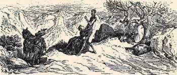 Dorotea suplica a don Quijote