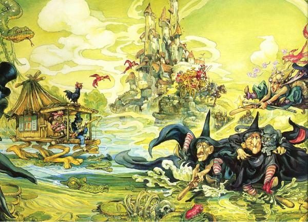Witch Village, Fantasy Scenes 1