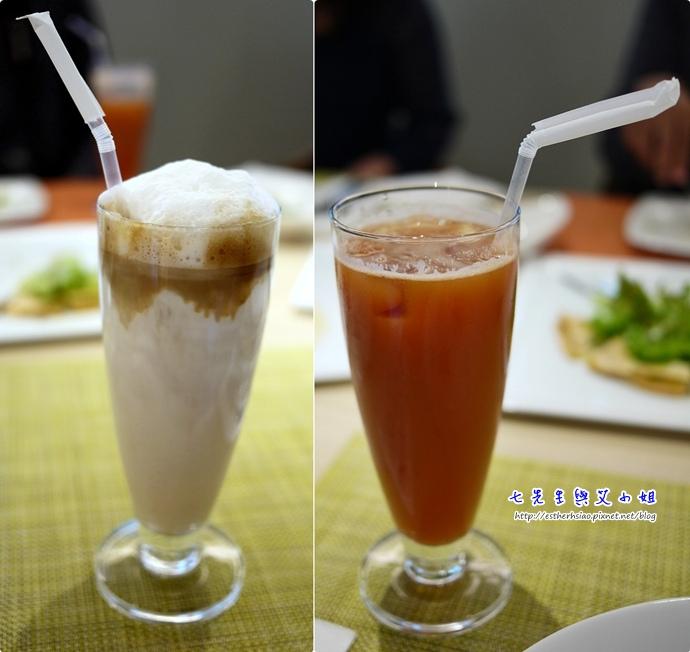 18 拿鐵 Nice Green 蔬果汁