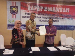Daerah Dirjen Bina Administrasi Kewilayahan Kemendagri, DR. Tumpak H. Simanjuntak, MA.