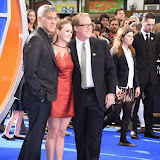 OIC - ENTSIMAGES.COM - George Clooney, Britt Robertson and Brad Bird at the Tomorrowland: A World Beyond European Premier in London 17th May 2015  Photo Mobis Photos/OIC 0203 174 1069