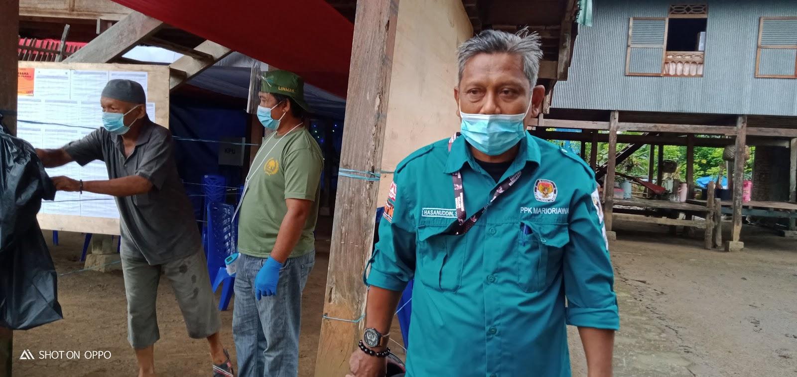 Ketua PPK Kecamatan Marioriawa Sampaikan Beberapa Hal Terkait Pemilihan Bupati dan Wakil Bupati 2020