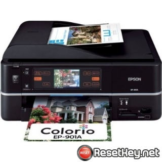 Reset Epson EP-901A printer Waste Ink Pads Counter