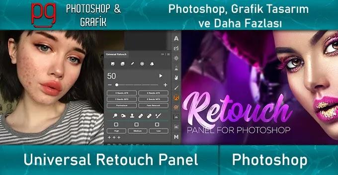 Universal Retouch Panel | Photoshop Rötuş Eklentisi