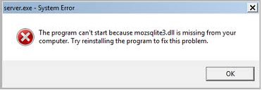 Cara gampang mengatasi missing mozsqlite3.dll di Windows 7