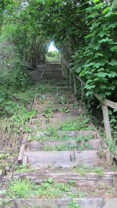 Stairs to Watling Street