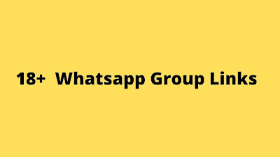 Join Latest 18+  Whatsapp Group Links List