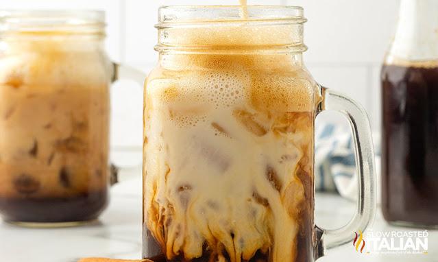 Iced Cinnamon Dolce Latte (Starbucks Copycat) milk coffee swirl