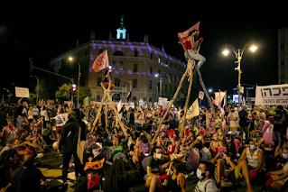 11 presos em manifestação anti-governo realizada em Jerusalém