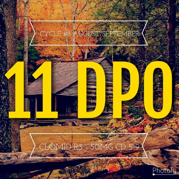 11 Dpo Spotting And Nausea