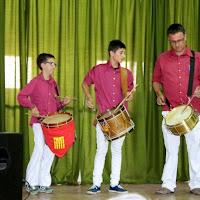 Audició Escola de Gralles i Tabals dels Castellers de Lleida a Alfés  22-06-14 - IMG_2395.JPG