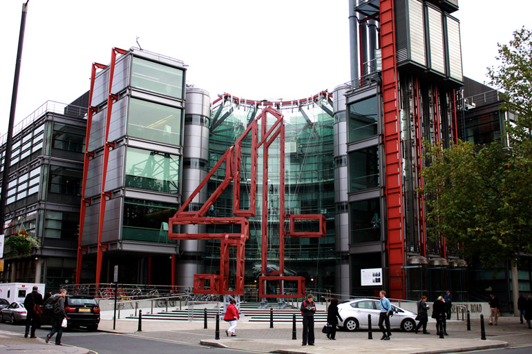 london architecture channel 4 studio