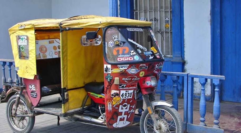 moto taxi peru