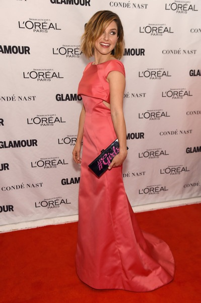 Sophia Bush attends 2015 Glamour Women Of The Year Awards