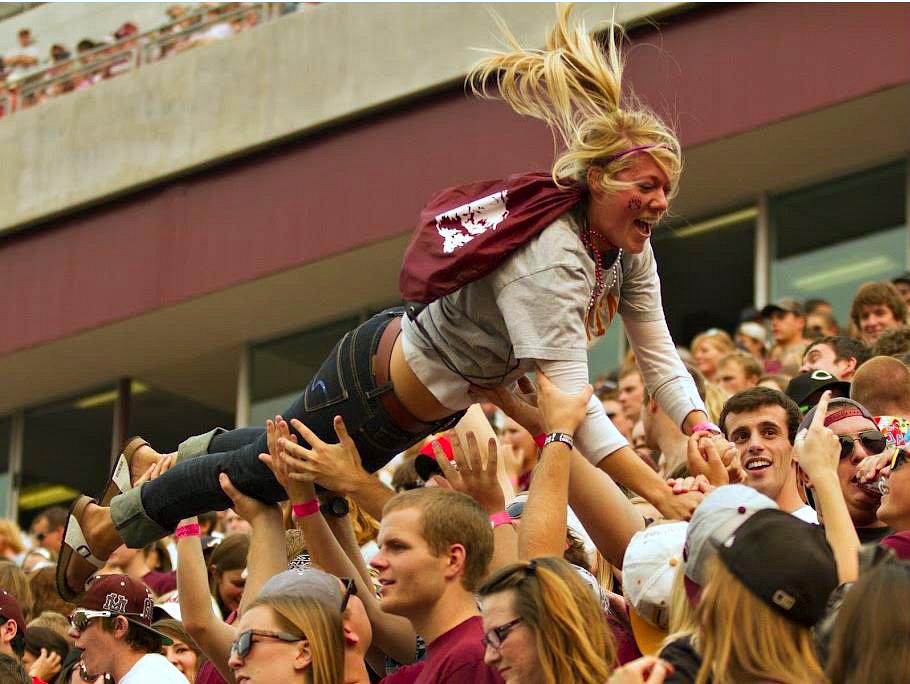 Go Griz Fans. Photo by Austin Smith
